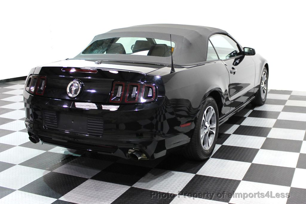 2014 Ford Mustang CERTIFIED MUSTANG V6 PREMIUM CONVERTIBLE - 16237489 - 18