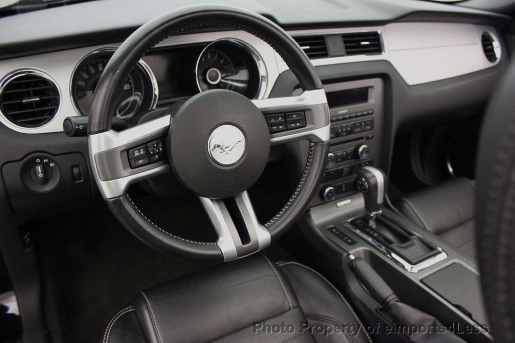 2014 Ford Mustang V6 Premium >> 2014 Used Ford Mustang Certified Mustang V6 Premium Convertible At