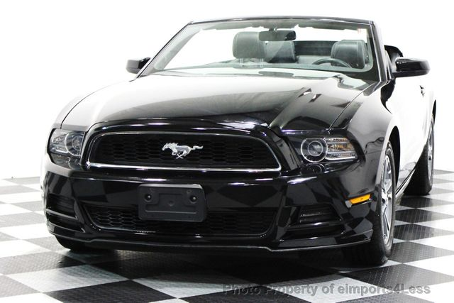 2014 Ford Mustang CERTIFIED MUSTANG V6 PREMIUM CONVERTIBLE - 16238124 - 11