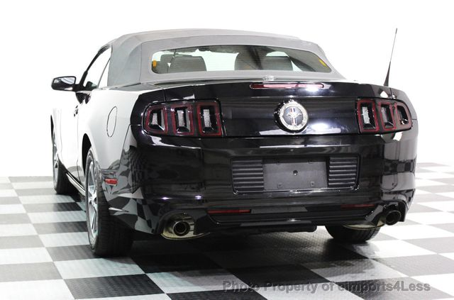 2014 Ford Mustang CERTIFIED MUSTANG V6 PREMIUM CONVERTIBLE - 16238124 - 15