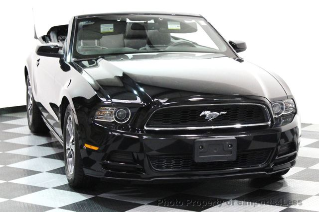 2014 Ford Mustang CERTIFIED MUSTANG V6 PREMIUM CONVERTIBLE - 16238124 - 21