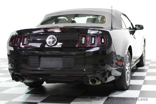 2014 Ford Mustang CERTIFIED MUSTANG V6 PREMIUM CONVERTIBLE - 16238124 - 25