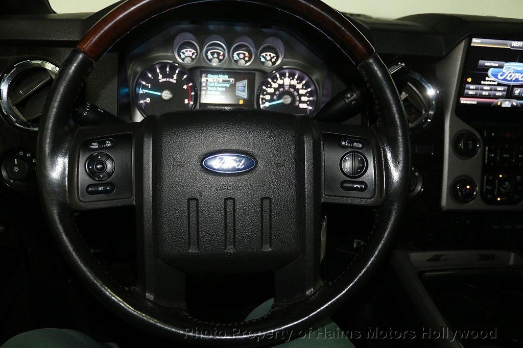 "2014 Ford Super Duty F-250 SRW 4WD Crew Cab 156"" Platinum - 17933673 - 30"