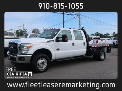 2014 Ford Super Duty F-350 4WD DRW Flatbed Diesel