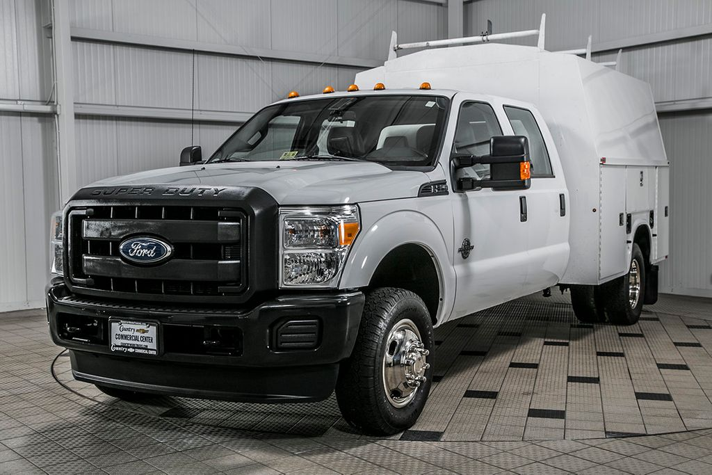 2014 used ford super duty f 350 drw cab chassis f350 crew cab 4x4 6 7 powerstroke knapheide. Black Bedroom Furniture Sets. Home Design Ideas