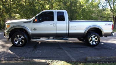 "2014 Ford Super Duty F-350 SRW 4WD SuperCab 158"" Lariat Truck"