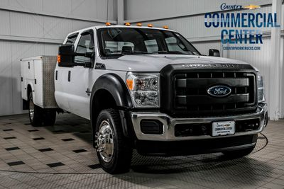 2014 used ford super duty f 450 drw cab chassis f450 crew 4x4 6 7 powerstroke knapheide. Black Bedroom Furniture Sets. Home Design Ideas