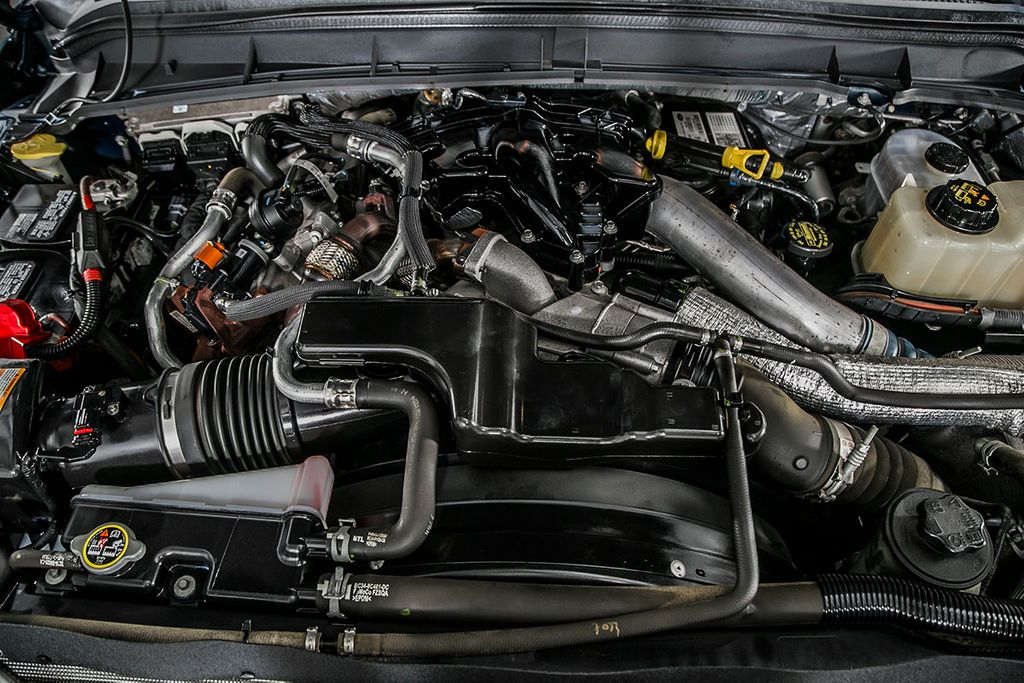 2014 Ford Super Duty F-550 DRW F550 SUPERCAB 4X4 * 6.7 POWERSTROKE * 11' CONTRACTOR DUMP - 17301033 - 17