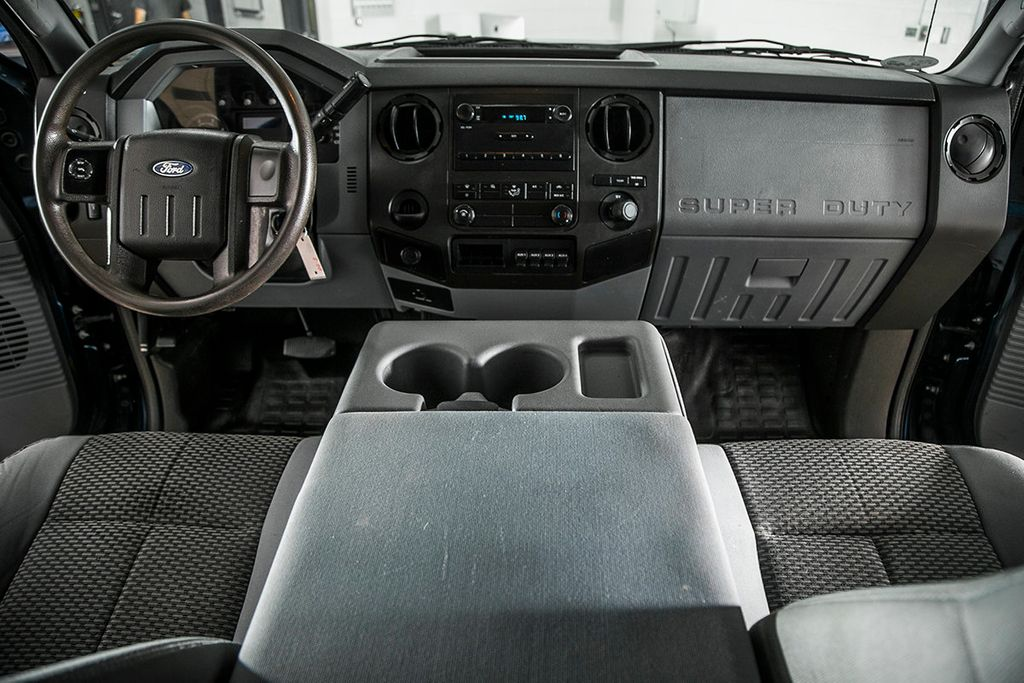 2014 Ford Super Duty F-550 DRW F550 SUPERCAB 4X4 * 6.7 POWERSTROKE * 11' CONTRACTOR DUMP - 17301033 - 18
