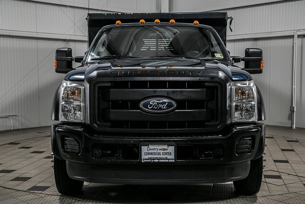 2014 Ford Super Duty F-550 DRW F550 SUPERCAB 4X4 * 6.7 POWERSTROKE * 11' CONTRACTOR DUMP - 17301033 - 2
