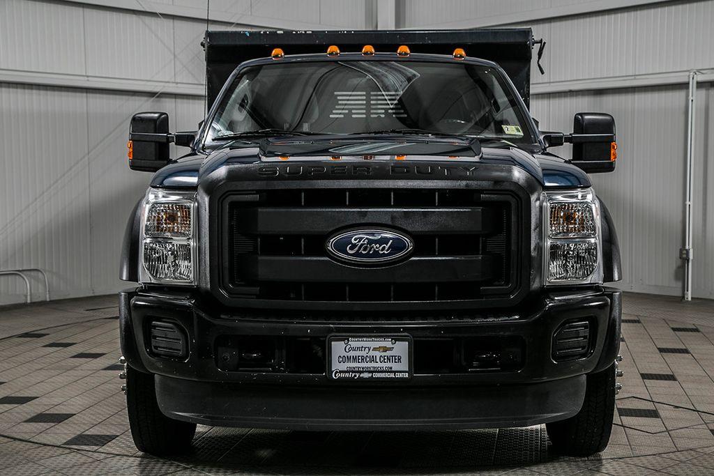 2014 Ford Super Duty F-550 DRW F550 SUPERCAB 4X4 * 6.7 POWERSTROKE * 11' CONTRACTOR DUMP - 17301033 - 2
