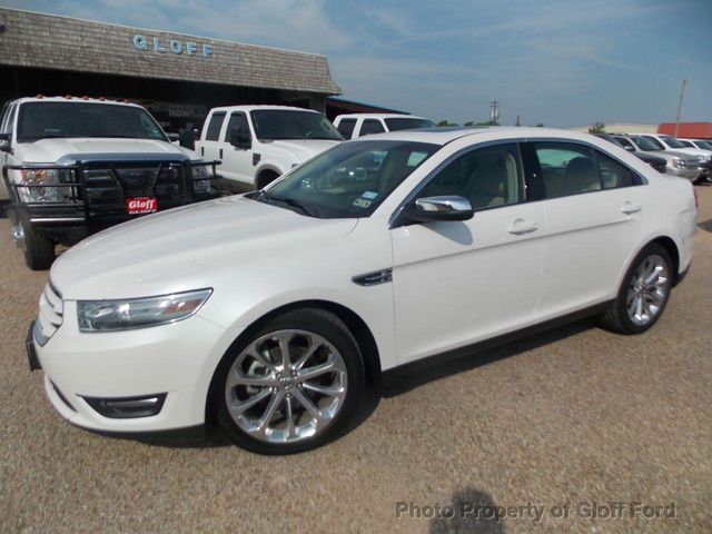 Used Ford Taurus >> 2014 Used Ford Taurus Limited At Gloff Ford Serving Clifton Tx Iid