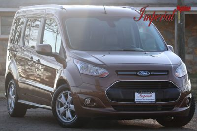 2014 Ford Transit Connect Wagon 4dr Wagon LWB Titanium w/Rear Liftgate Van