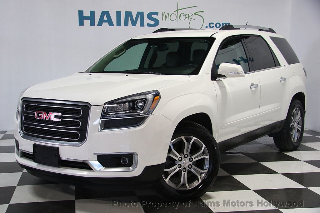 2014 used gmc acadia awd 4dr slt2 at haims motors serving fort lauderdale hollywood miami fl. Black Bedroom Furniture Sets. Home Design Ideas