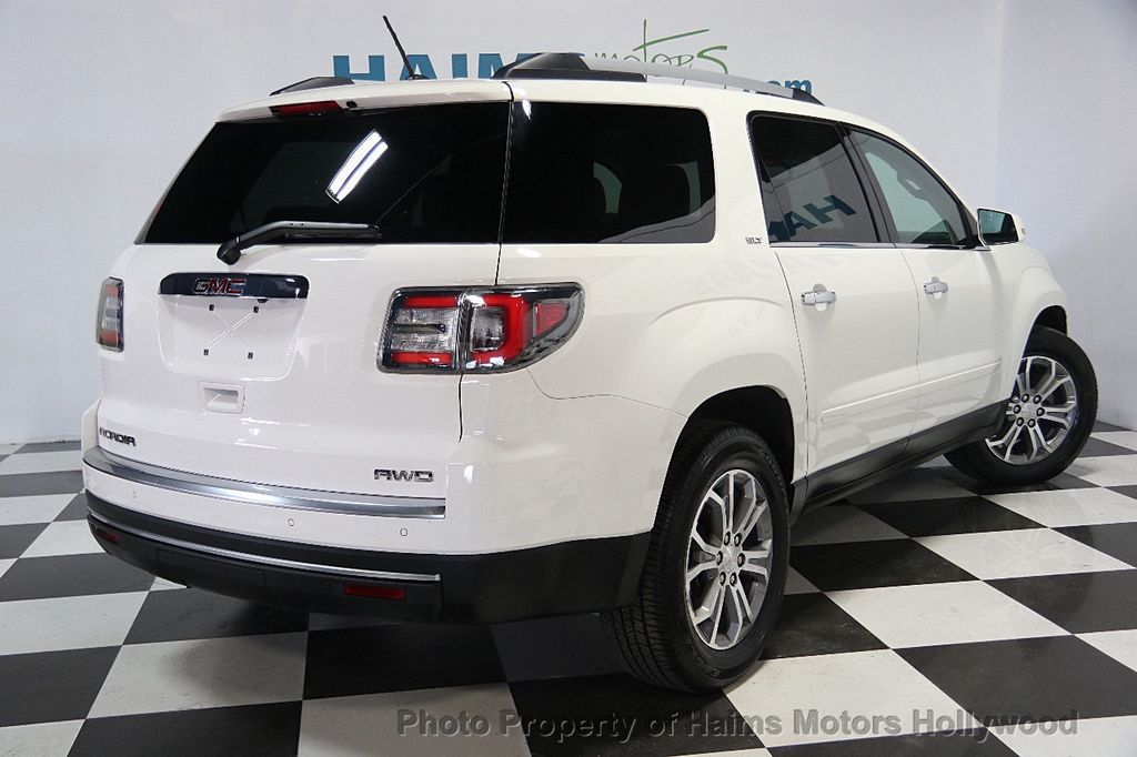 2014 Used Gmc Acadia Awd 4dr Slt2 At Haims Motors Serving