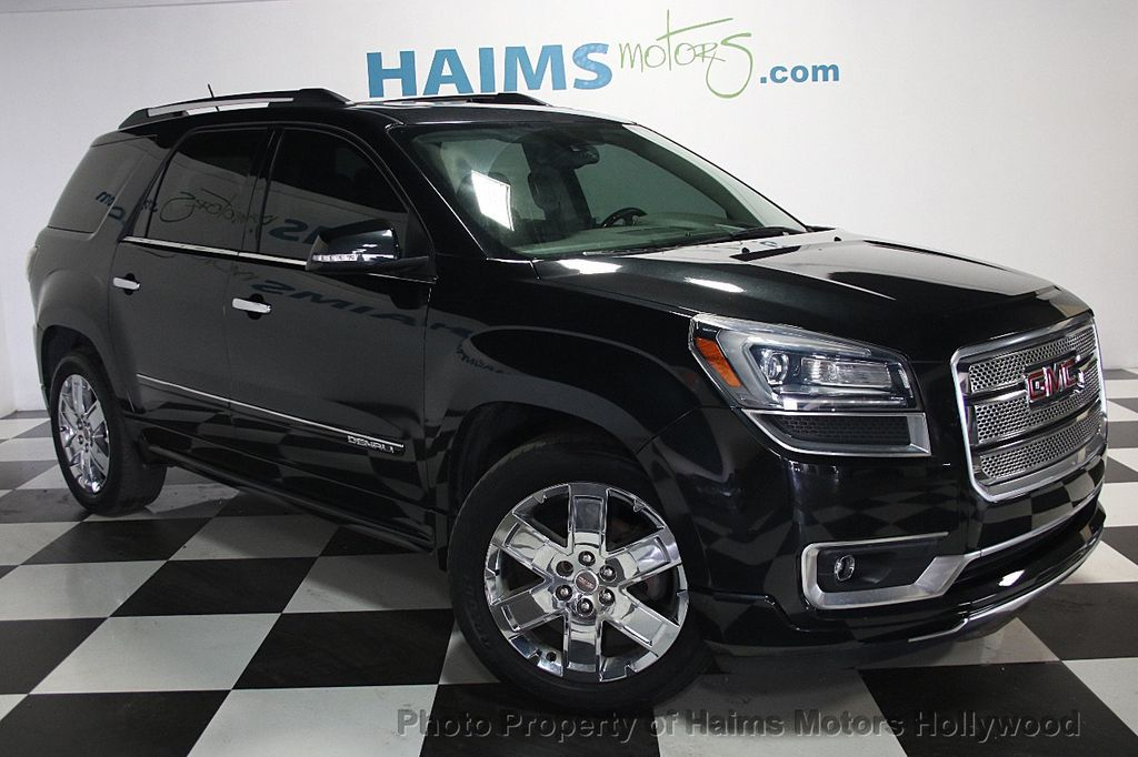 2014 used gmc acadia fwd 4dr denali at haims motors serving fort lauderdale hollywood miami. Black Bedroom Furniture Sets. Home Design Ideas