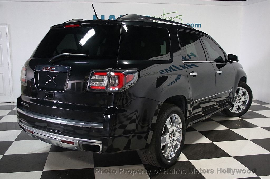 2014 used gmc acadia fwd 4dr denali at haims motors hollywood serving fort lauderdale hollywood. Black Bedroom Furniture Sets. Home Design Ideas