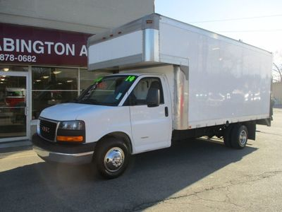 2014 GMC Savana Commercial 4500 Cutaway 16'FT BOX TRUCK 4500 Van 177 - Click to see full-size photo viewer