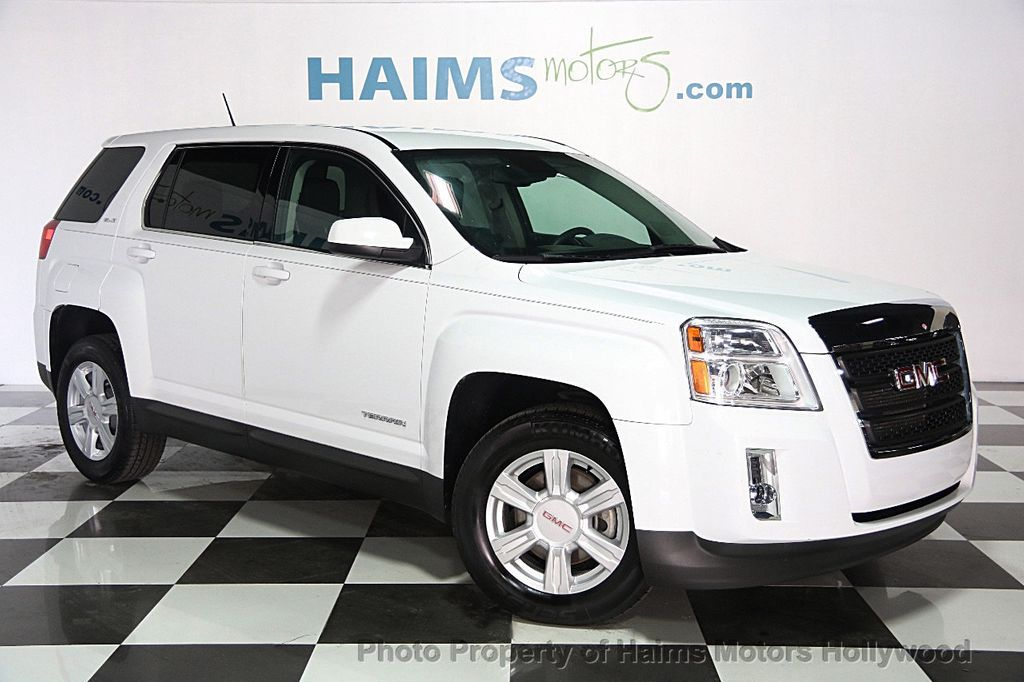 2014 Used Gmc Terrain Fwd 4dr Sle W Sle 1 At Haims Motors Serving Fort Lauderdale Hollywood