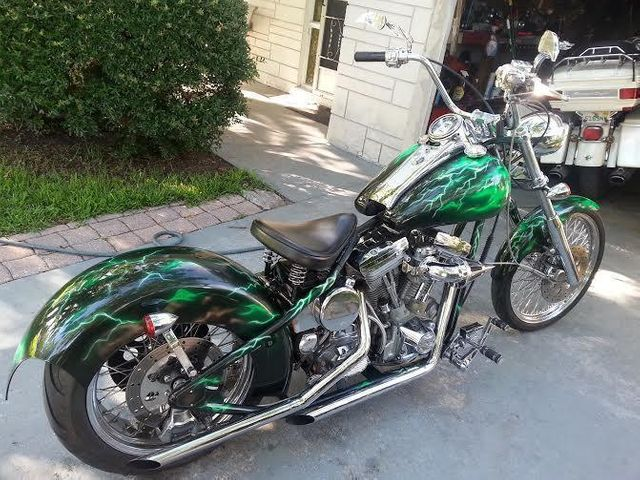 2014 Used Harley-Davidson Hardtail Custom at WeBe Autos Serving Long