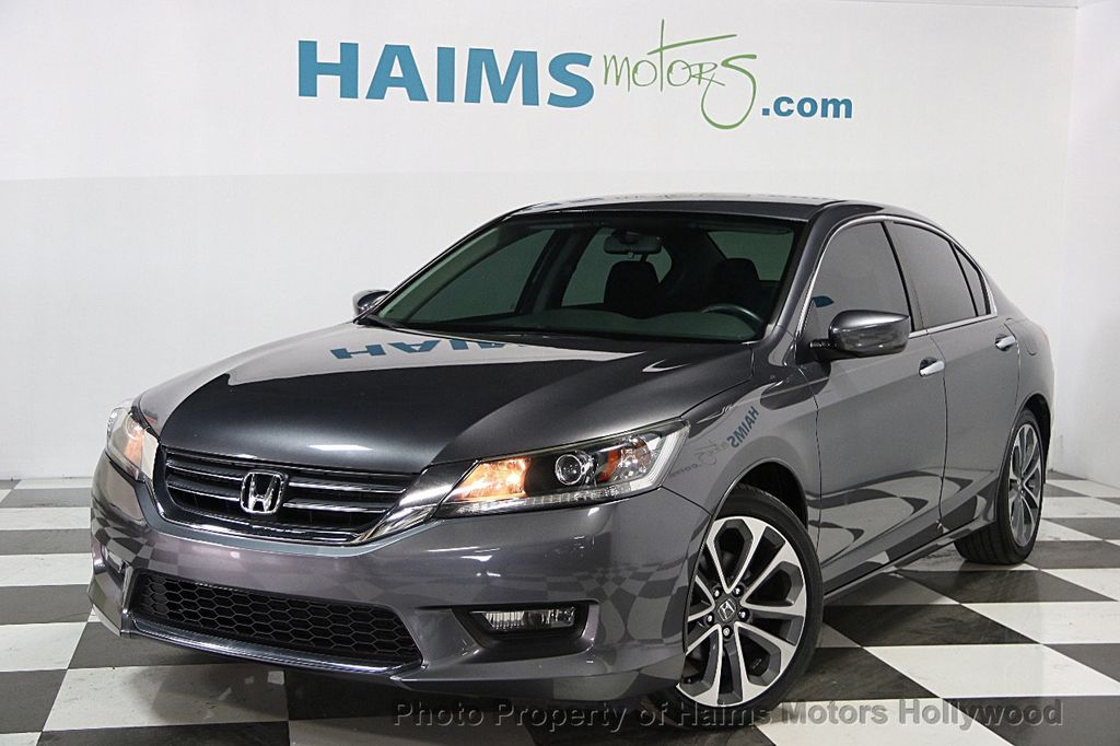 2014 Used Honda Accord Sedan 4dr I4 Cvt Sport At Haims Motors