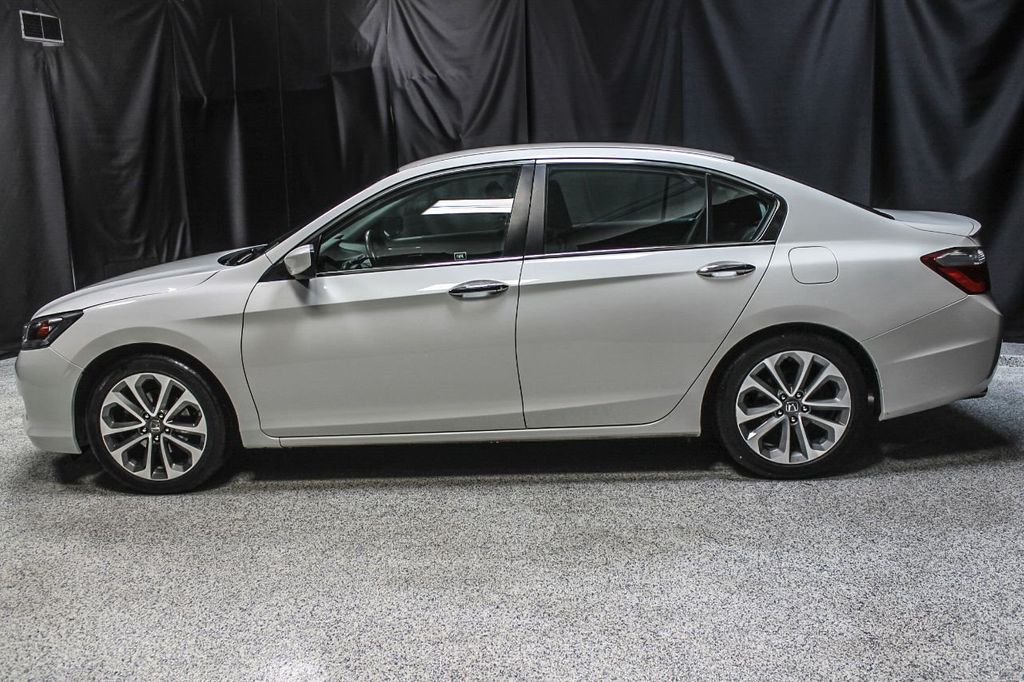 2014 Used Honda Accord Sedan 4dr I4 Cvt Sport At Auto Outlet Serving