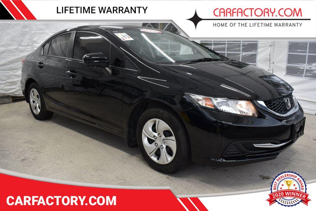 2014 Honda Civic Sedan 4dr CVT LX - 18456518 - 0
