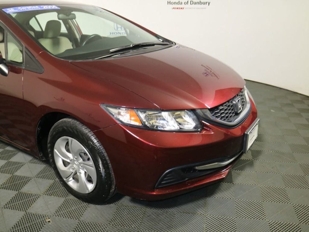 2014 Honda Civic Sedan 4dr CVT LX - 17297069 - 1