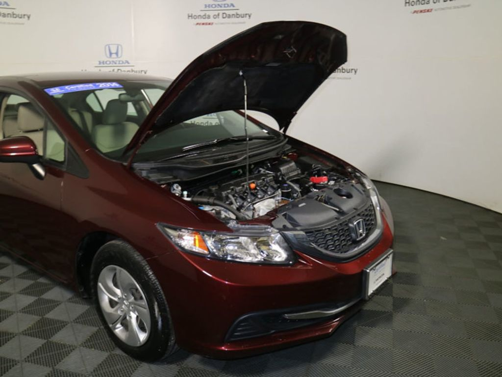 2014 Honda Civic Sedan 4dr CVT LX - 17297069 - 2