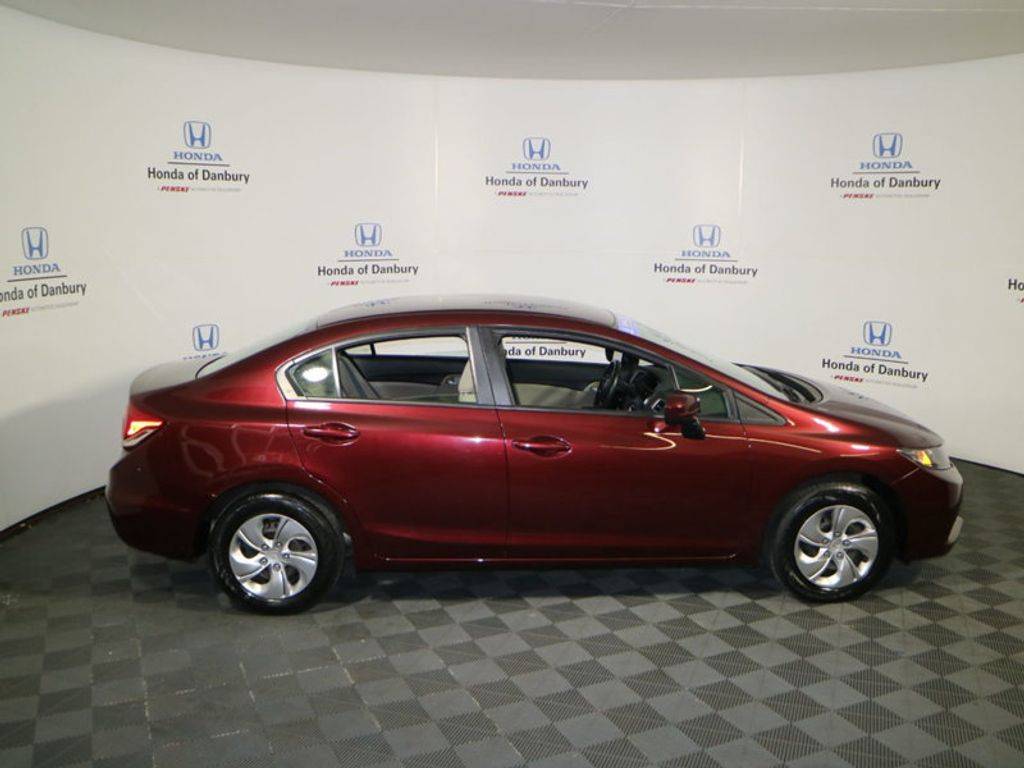 2014 Honda Civic Sedan 4dr CVT LX - 17297069 - 4