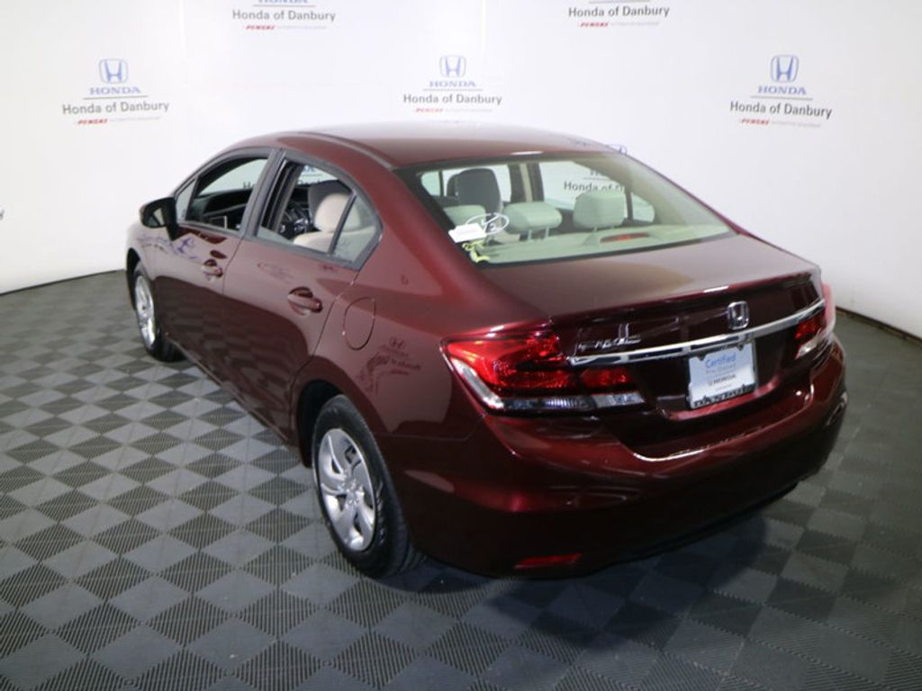 2014 Honda Civic Sedan 4dr CVT LX - 17297069 - 6