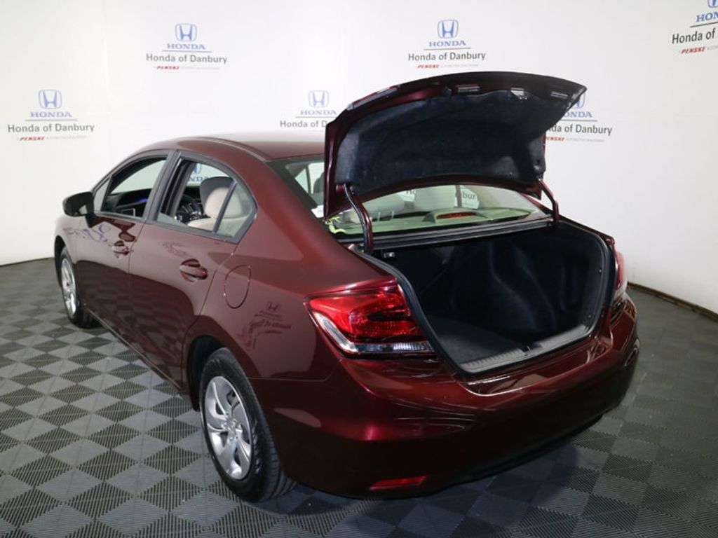 2014 Honda Civic Sedan 4dr CVT LX - 17297069 - 7