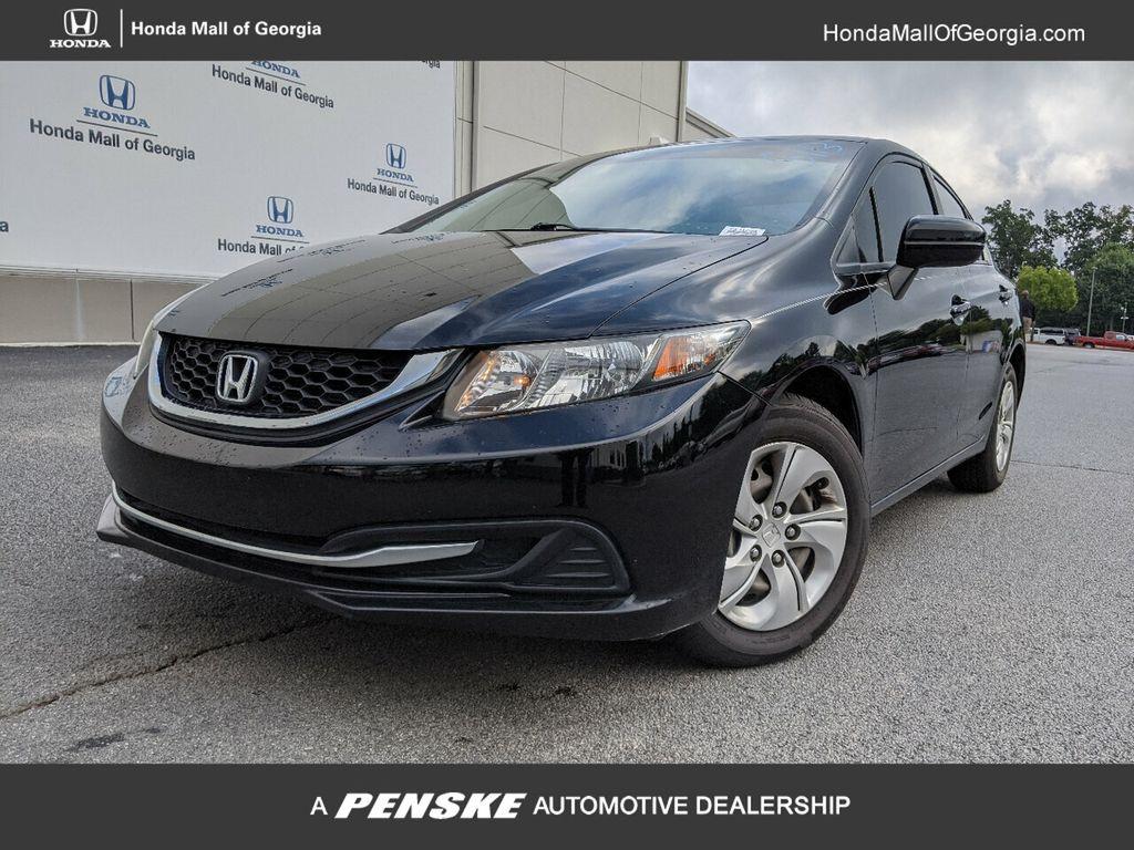 Used 2014 Honda Civic Sedan 4dr Cvt Lx For Sale In Buford Georgia P12169a Penskecars Com