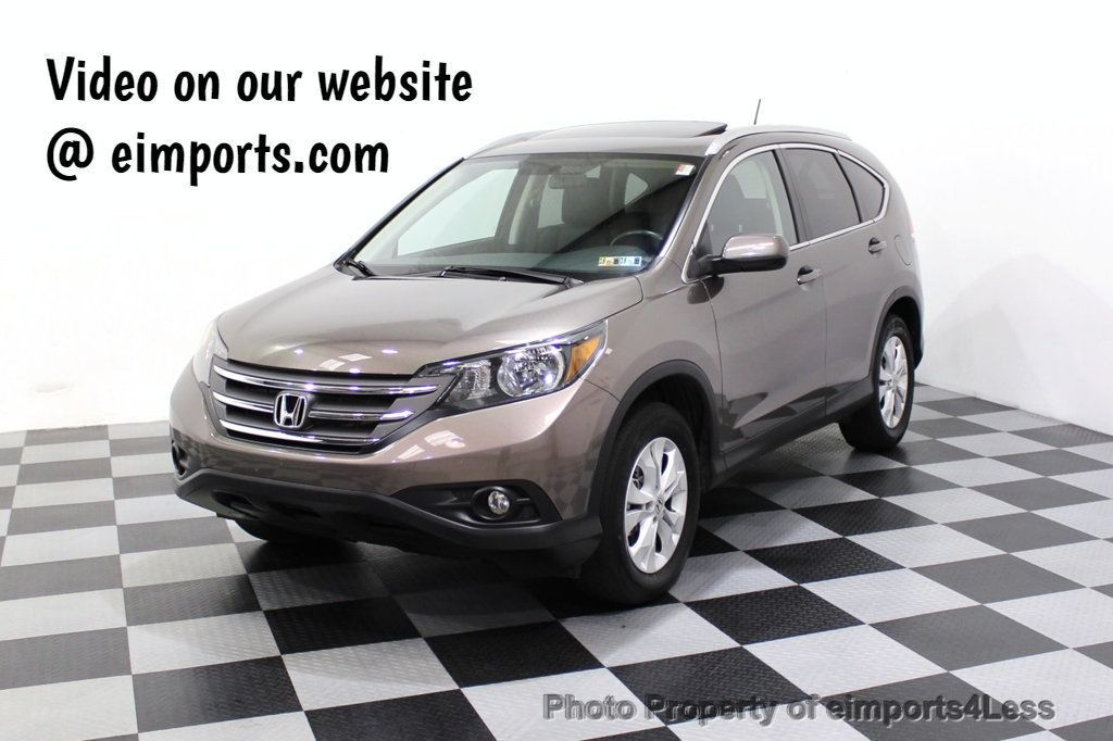 2014 Honda CR-V CERTIFIED CR-V EX-L AWD CAMERA NAVIGATION - 18006906 - 0