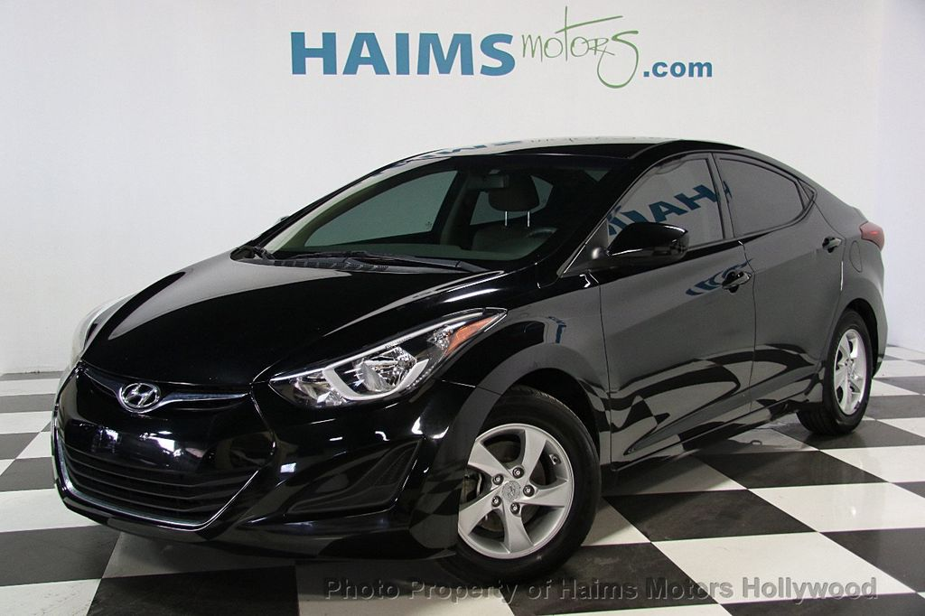 2014 Used Hyundai Elantra 4dr Sedan Manual Se At Haims