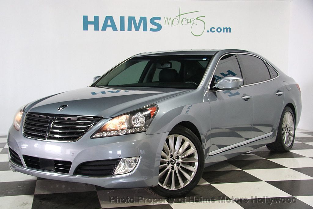 2014 Used Hyundai Equus 4dr Sedan Signature At Haims Motors