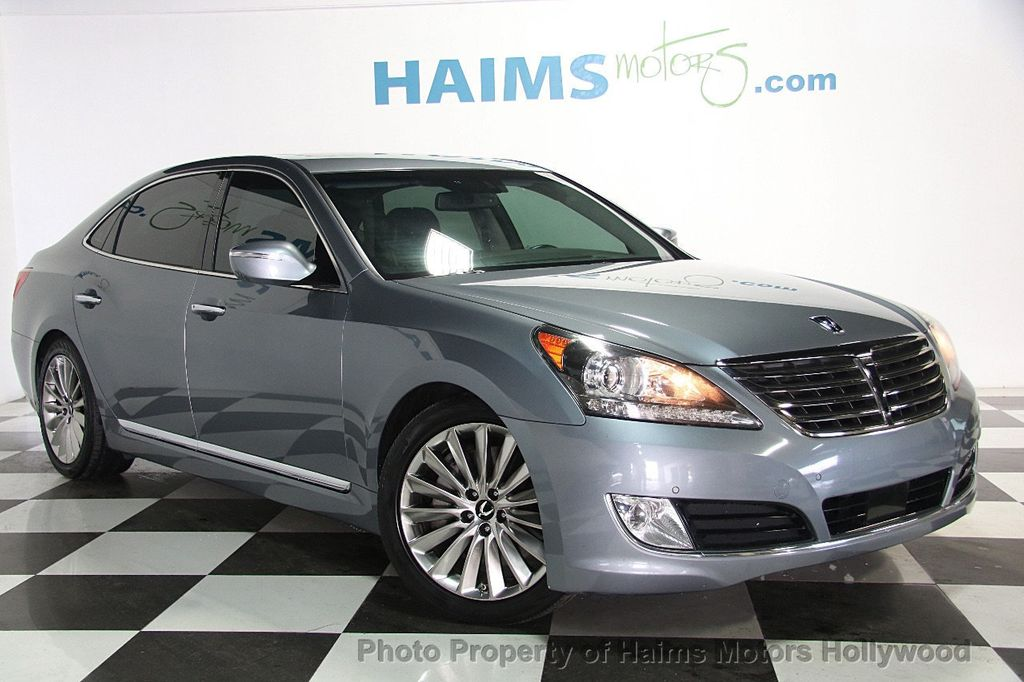 2014 Hyundai Equus 4dr Sedan Signature   16763219   3