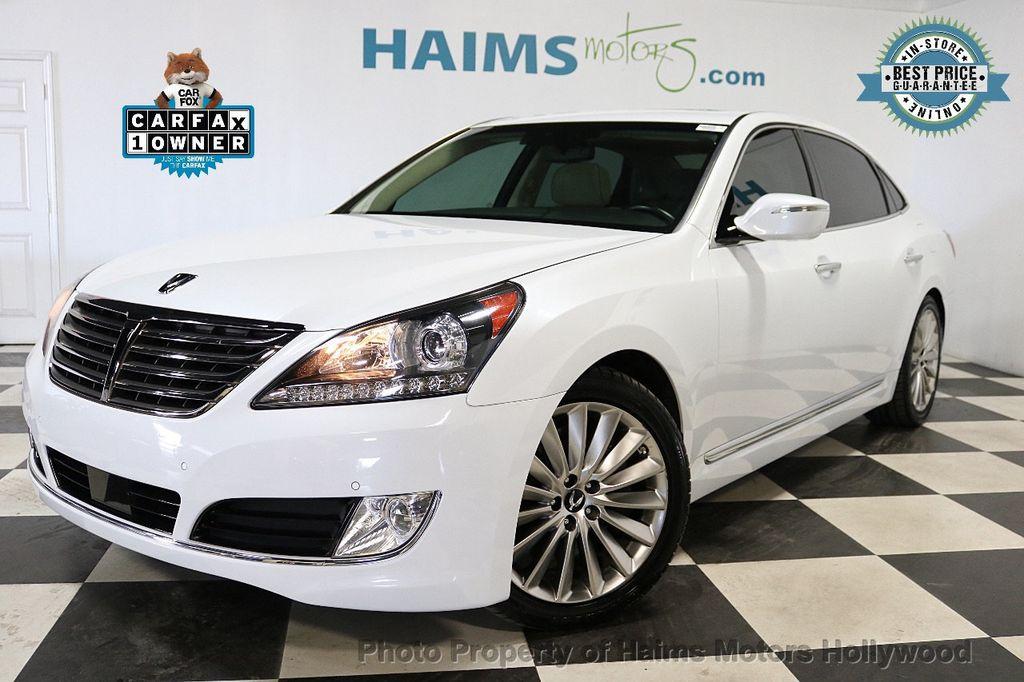 2014 Used Hyundai Equus 4dr Sedan Signature At Haims Motors Serving