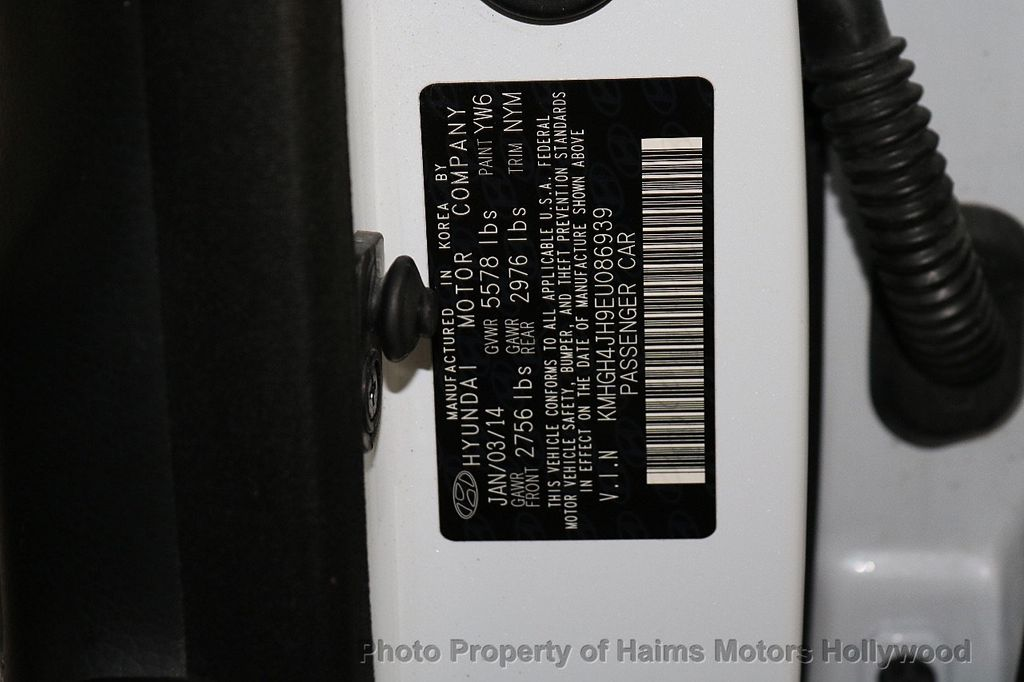 2014 Hyundai Equus 4dr Sedan Signature - 18098844 - 38
