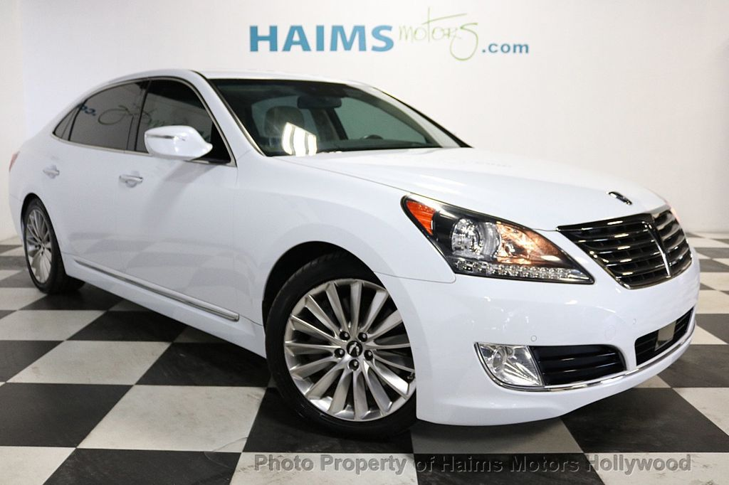 2014 Used Hyundai Equus 4dr Sedan Signature At Haims Motors Serving