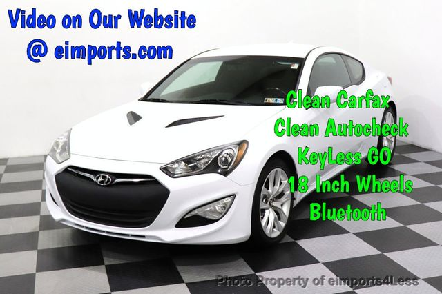 2014 Hyundai Genesis Coupe 2.0 T >> 2014 Used Hyundai Genesis Coupe Certified Genesis 2 0t Coupe At Eimports4less Serving Doylestown Bucks County Pa Iid 18204343