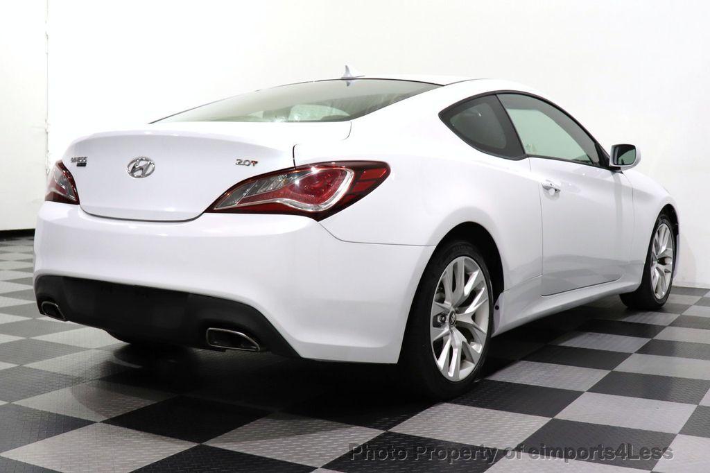 2014 Hyundai Genesis Coupe CERTIFIED GENESIS 2.0t COUPE  - 18204343 - 16