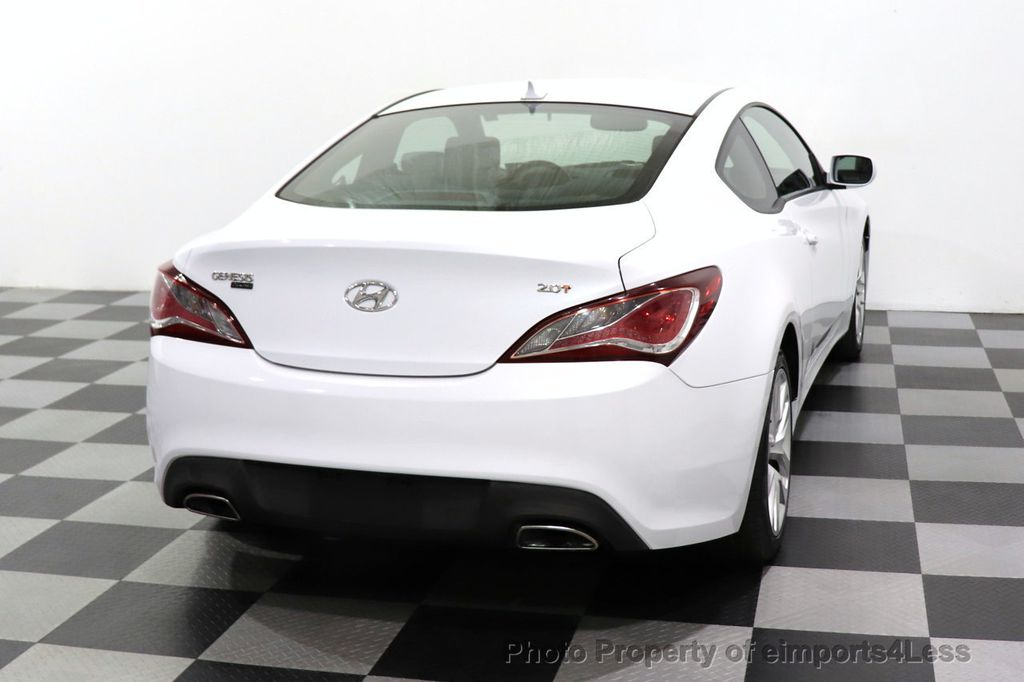 2014 Hyundai Genesis Coupe CERTIFIED GENESIS 2.0t COUPE  - 18204343 - 30