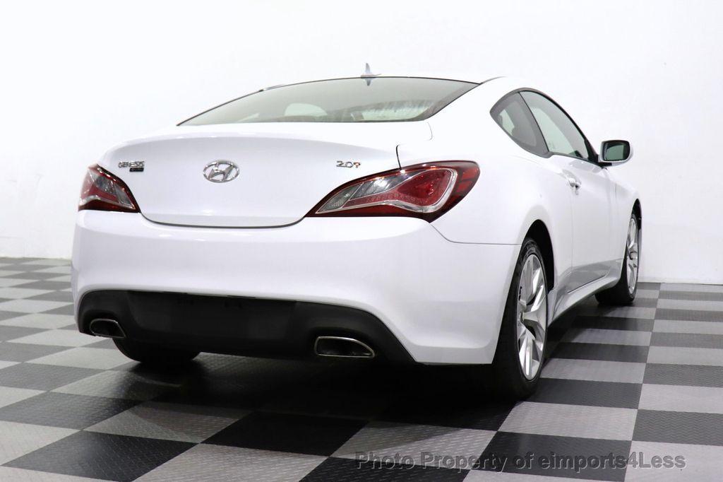 2014 Hyundai Genesis Coupe CERTIFIED GENESIS 2.0t COUPE  - 18204343 - 45