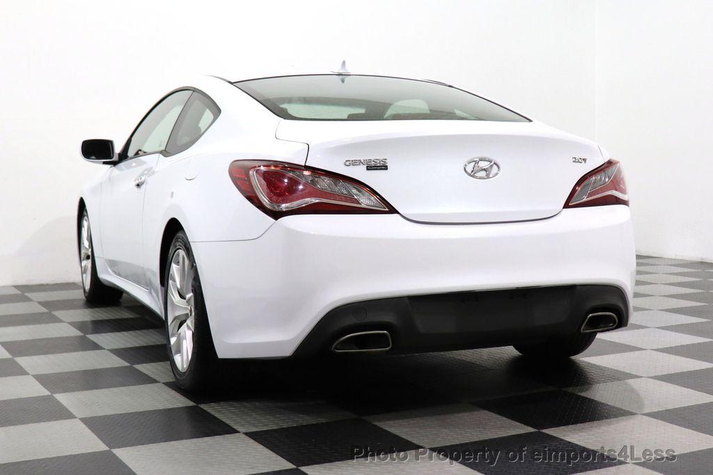 2014 Hyundai Genesis Coupe CERTIFIED GENESIS 2.0t COUPE  - 18204343 - 53