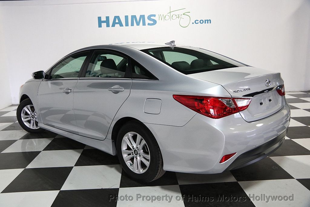 2014 used hyundai sonata 4dr sedan 2 4l automatic gls at haims motors ft lauderdale serving. Black Bedroom Furniture Sets. Home Design Ideas