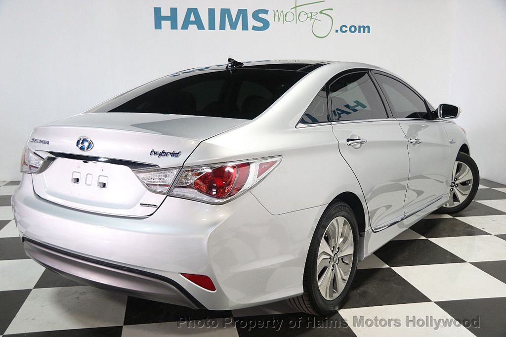 2014 used hyundai sonata hybrid 4dr sedan limited at haims motors serving fort lauderdale. Black Bedroom Furniture Sets. Home Design Ideas