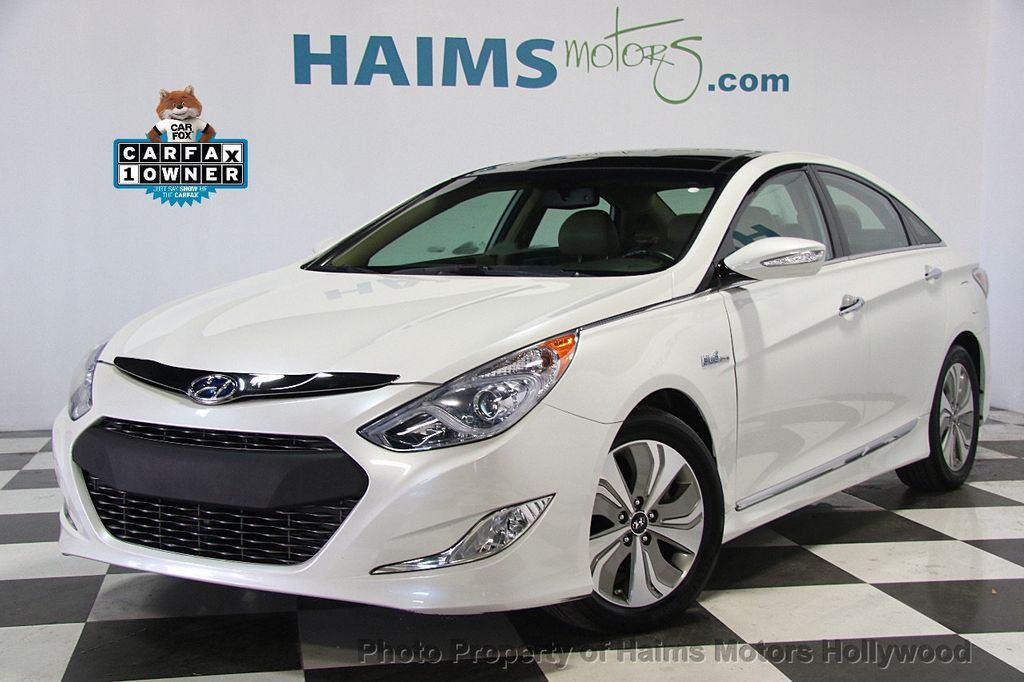 2014 Used Hyundai Sonata Hybrid 4dr Sedan Limited At Haims