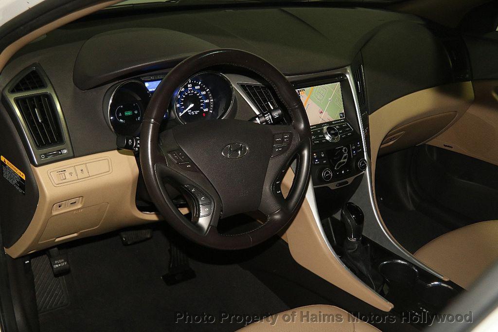 2014 Hyundai Sonata Hybrid 4dr Sedan Limited - 17069642 - 20