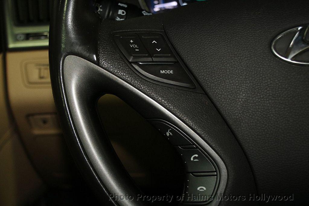 2014 Hyundai Sonata Hybrid 4dr Sedan Limited - 17069642 - 28